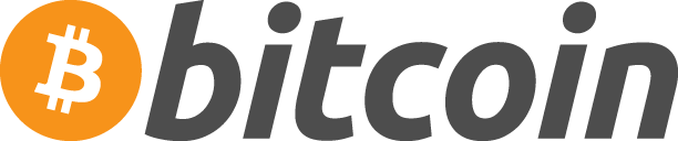Bitcoin logotype.