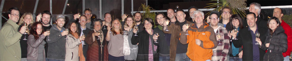 Kickstarter funding celebration.