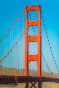 Picture of the Golden Gate Bridge.