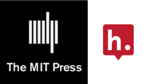Logos for MIT Press and Hypothesis.