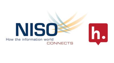 Logos for NISO & Hypothesis.