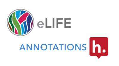 "eLife and Hypothesis logos around the word ""Annotations""."