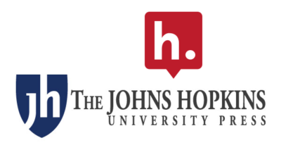 Logos for Hypothesis and John Hopkins University Press.