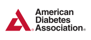 Logo for the American Diabetes Association.