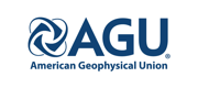 Logo for the American Geophysical Union.