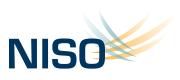 Logo for the National Information Standards Organization.