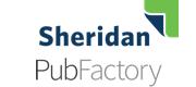 Logo for Sheridan PubFactory.