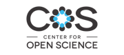 Logo for the Center for Open Science.