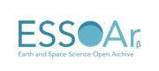 Logo for the Earth and Space Science Open Archive.