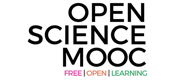 Logo for the Open Science MOOC.