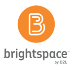 Logo for D2L Brightspace.