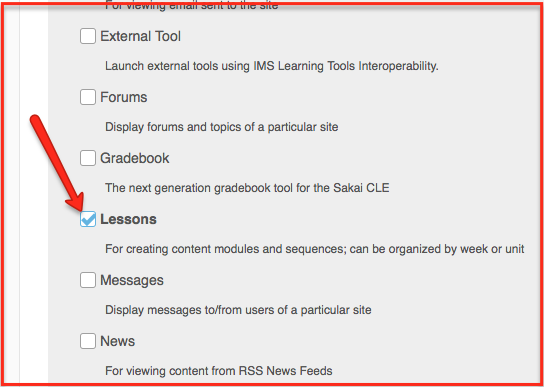 Using the Hypothesis LMS App with Lessons in Sakai : Using