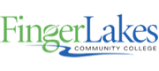 Wordmark for Finger Lakes Community College.