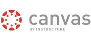 Logo and wordmark for Canvas by Instructure.