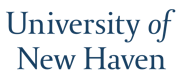Wordmark for the University of New Haven.