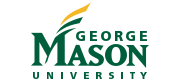Logo and wordmark for George Mason University.