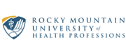 Logo and wordmark for Rocky Mountain University of Health Professions.
