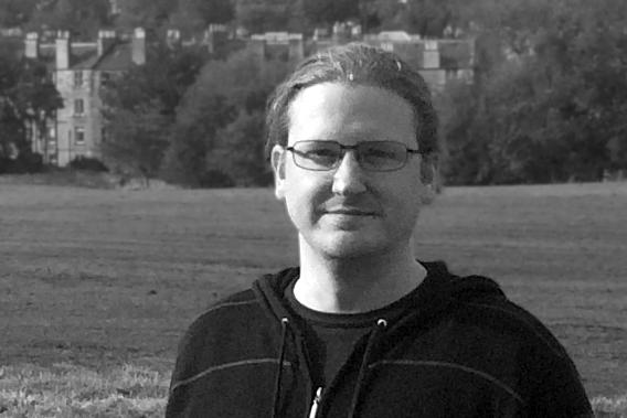 Black and white headshot of Jon Betts.