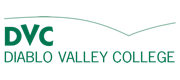 Green Diablo Valley College logo and workmark.