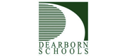 Green logo and wordmark for Dearborn Public Schools.