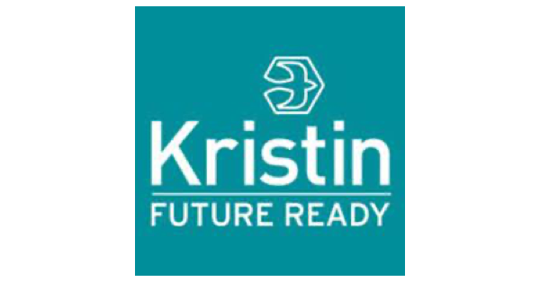 Kristin School logo with green background, illustration of a bird and the words Kristin Future Ready