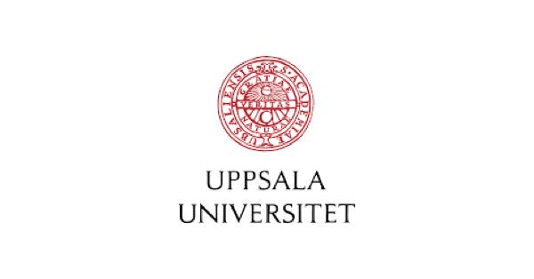 Uppsala University logo with the words Uppsala Universitet and above that the school seal in red with the school name in Latin and the Latin words gratiae, veritas, naturae